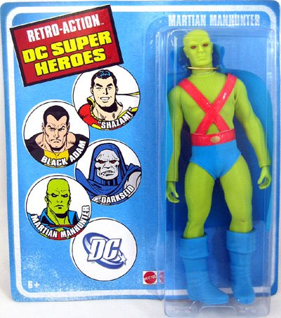RETRO MEGO DC SUPERHEROES WAVE 4 MARTIAN MANHUNTER