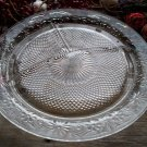 Indiana Depression Glass DAISY Crystal Clear Grill Plate