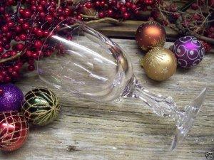 """6 Vintage TIFFIN Franciscan~MIRAGE~6-7/8"""" Water Goblets"""
