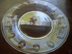 "6 TIFFIN Franciscan~MIRAGE~8-1/8"" Luncheon Plates"