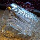US Glass EAPG No 15095 Panelled Palm Handled Mug c.1906