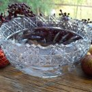 "American Brilliant Period Cut Glass 8"" Fruit Bowl~ABP"