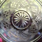 Set of 4 EAPG Bryce Higbee SHEAF and DIAMOND Sauce Bowls c. 1905