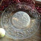 "Set of 4 Princess House FANTASIA 8"" Crystal Luncheon Plates"