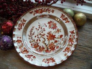 """Spode Copeland INDIAN TREE 7-3/4"""" Salad Plate (Old Backstamp)"""