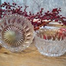 Set of 2 EAPG Early American Pattern Glass Sauce Bowls