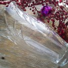Signed Crystal Flower Vase~BJ Maker Mark