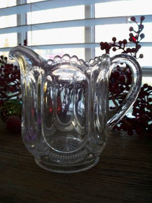 US Glass Co. GALLOWAY #15086 Creamer c.1904