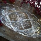 J. Hoare ABP American Brilliant Cut Glass Ice Cream Tray Signed