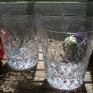 Set of 6 Rogaska Gallia Flared Double Old Fashioned