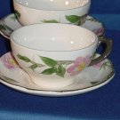 Franciscan Desert Rose cup and saucer Vintage dinnerware