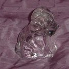 Glass Dog solid head hollow body   120