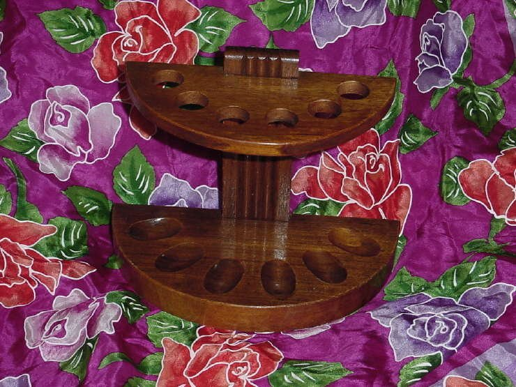 Tobacco pipe rack semi circle 6 pipes  No. 135