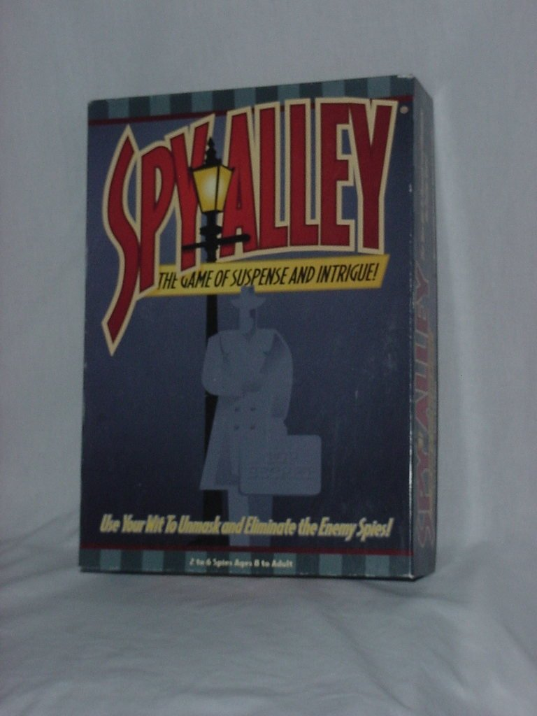 Spy Alley The Game of Suspense and Intrigue 1999   136