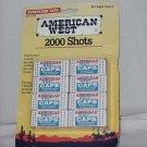 Tootsie Toy American West Caps for Cap Gun 2000 shots