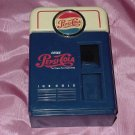 Pepsi bank 1996 Pepsi machine shape