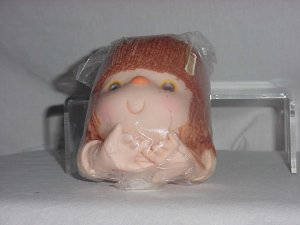 Fibre Craft Yarn Doll head and hands Strawberry Shortcake  No. 146