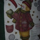 Fabric Door Panel Frosty Snowman Daisy Kingdom