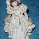 Vintage ceramic or porcelain lady figurine   No. 157