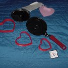 Cookie Cutters Heart shaped pan Valentine cookie cutter No. 161