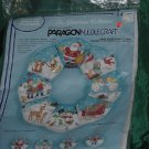 Paragon Needlecraft Christmas Wonder Wreath Kit Snip n Stuff Cut Sew Stuff Kit