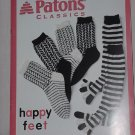 Patons Classics Happy Feet Lots of Socks Knitting Patterns for the Family   NO. 191