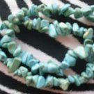 2 Turquoise In  Color Rock Chip Braclets!!!!! Z2-36