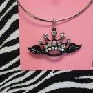 Black Crown & Wings w/ Bling!!!!!!!!Z2-92