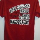 GIRLY Arkansas Girl Red Tee