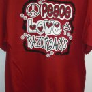 "GIRLY GIRL ""Peace Love & Razorbacks"" Tee"