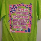 Lime Green Girly Girl Tee Sassy Tee
