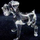 BOXER(DEUTSCHER BOXER) CRYSTAL GLASS MINIATURE FIGURINE