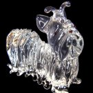 YORKSHIRE TERRIER / YORKIE CRYSTAL GLASS MINIATURE