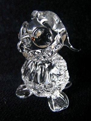 OWL BIRD CRYSTAL GLASS COLLECTIBLE MINIATURE FIGURINE