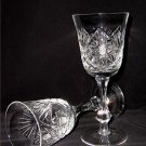 WHITE WINE HANDCUT CRYSTAL GLASSES (SET OF 6)
