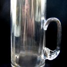 CRYSTAL GLASS BEER MUG / MODEL 2
