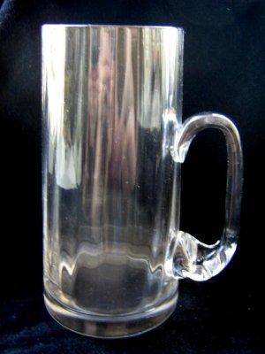 CRYSTAL GLASS BEER MUG / MODEL 2