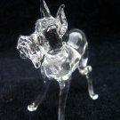 GREAT DANE CRYSTAL GLASS MINIATURE FIGURINE
