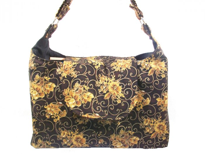 Melissa Hobo Purse in Brown