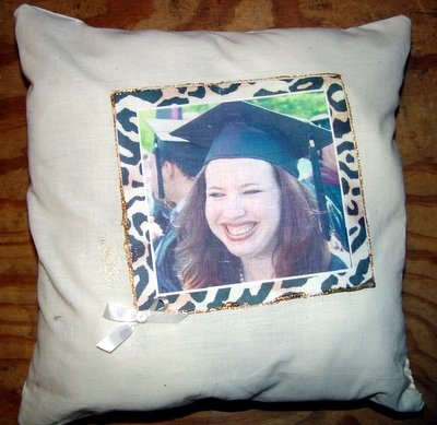 "Personalized  Photo 14"" Pillow Graduation Gift Timeless"