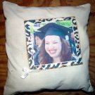 Personalized  Photo 14&quot; Pillow Graduation Gift Timeless