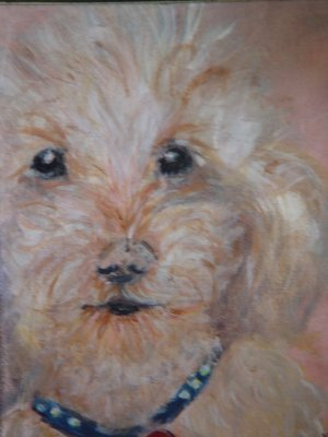Personalized Pet  Portrait Painting