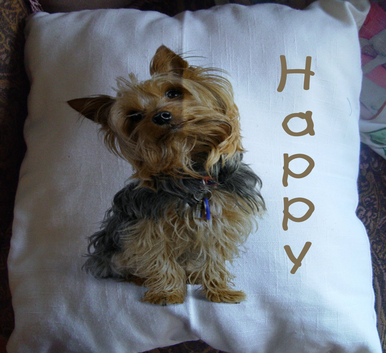 "Personalized Pet Photo 14"" Pillow"