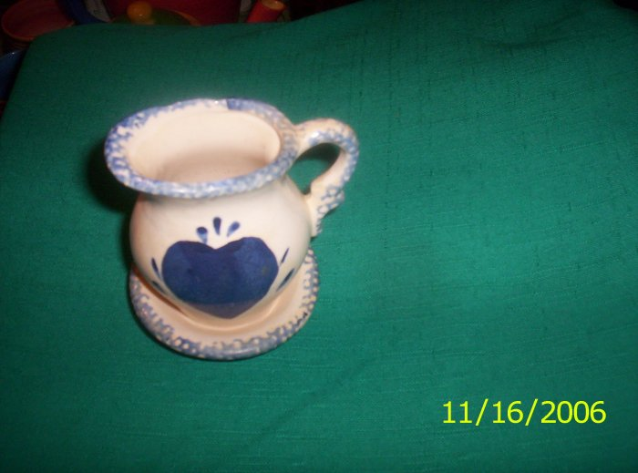 Sponged small pitcher set