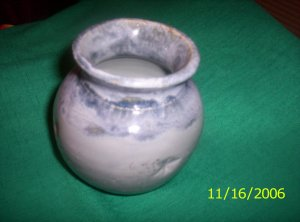 Blue Glazed Pottery