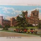 Sioux City, Iowa Central High School Postcard - 1946
