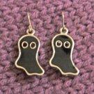 Black Ghoul Hook Earring