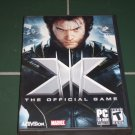 Used PC Game,OS-XP, X-MEN THE OFFICIAL GAME CD-rom