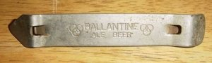Vintage Ballantine Ale Beer Bottle Opener