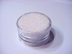 White Glitter - Ultra Fine - .25 Oz Glistening Snow